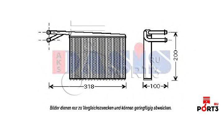 Теплообменник салона mercedes 412 из чего сделаны теплообменники