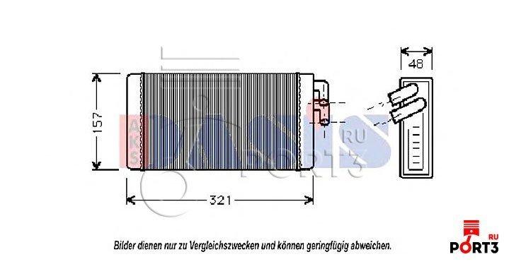 Как выглядит теплообменник на двигателе caterpiller-13 как прамывают теплообменник