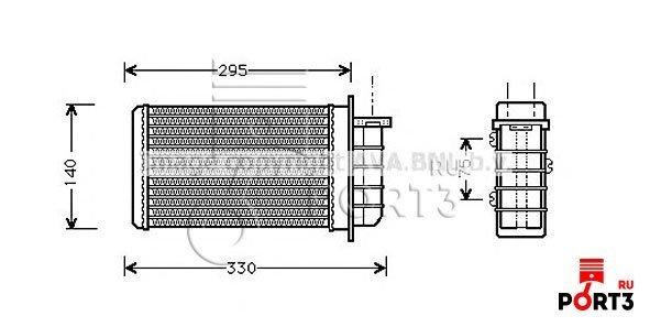 Замена теплообменника фиат мареа пласт теплообменник отопления ридан