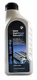 Моторное масло BMW High Power Special Oil 1л