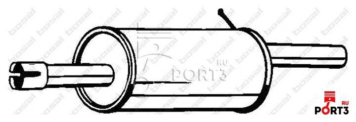 Глушитель для рено рисунок