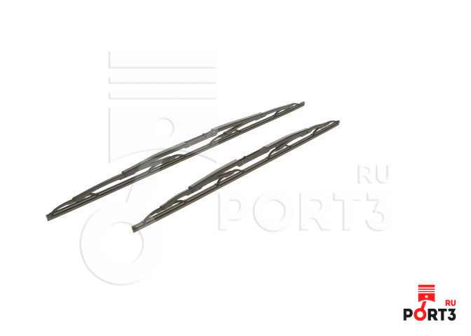 Щетки стеклоочистителя Bosch L+R 650mm 550mm 3 397 001 539 - фото 2