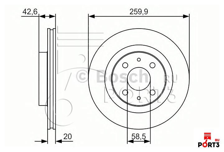 Фото №22 - толщина нового тормозного диска ВАЗ 2110
