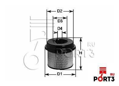 A733 Воздушный фильтр TECNOCAR - описание, фото, аналоги. Магазин ...