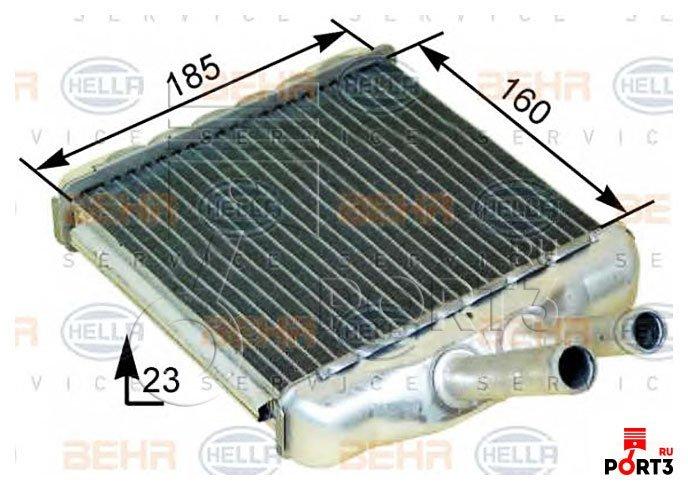 Теплообменник отопление салона nrf 54237 Уплотнения теплообменника Funke ТПР 14-15 Кострома