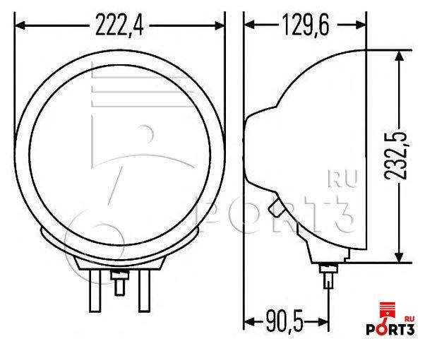 Схема подключения hella luminator