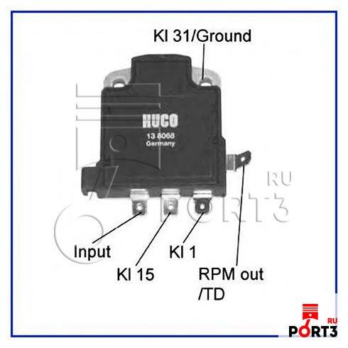 138068 Коммутатор, система зажигания HUCO - описание, фото ...: http://www.port3.ru/info/HUCO/138068
