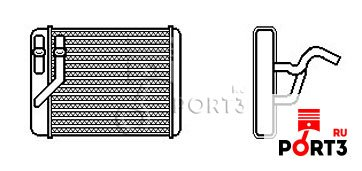 Теплообменник отопление салона теплообменник к газ. колонке юнкерс