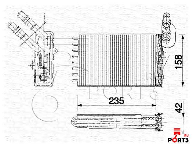 Масляный теплообменник двигателя рено символ чем промыть теплообменник
