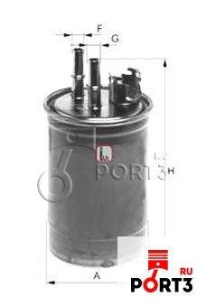 Топливный фильтр sofima s 4409 nr