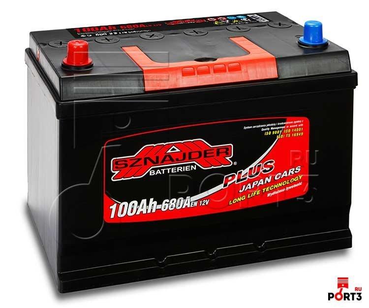 Автомобильный аккумулятор SZNAJDER Plus Jp 600 32 6СТ-100Аз.