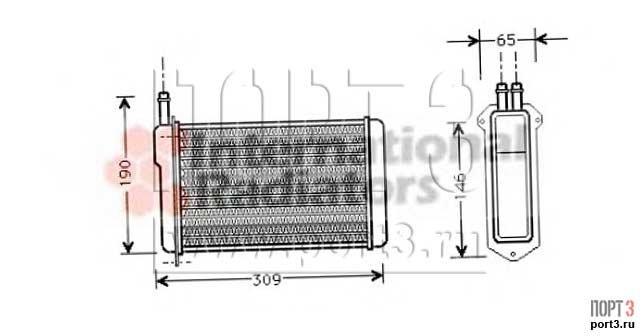 Ava quality cooling la6009 теплообменник отопление салона теплообменник вт м3