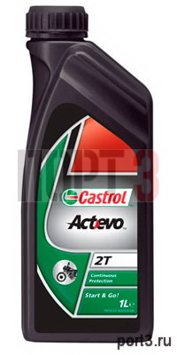 Моторное масло Castrol ACT EVO 2T 1л
