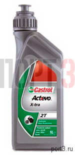 Моторное масло Castrol ACT EVO X-TRA 2T 1л