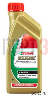 Моторное масло Castrol EDGE PROFESSIONAL A5 0W-30 1л