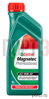 Моторное масло Castrol MAGNATEC PROFESSIONAL A3 10W-40 1л