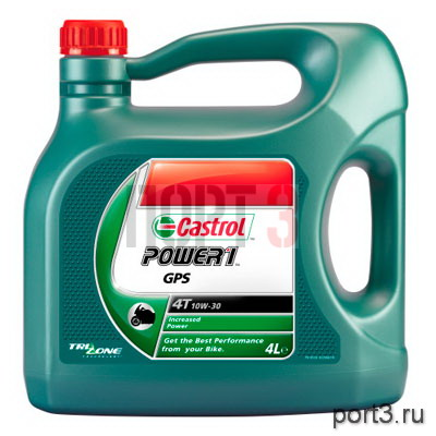 Моторное масло Castrol POWER 1 GPS 4T 10W-30 4л