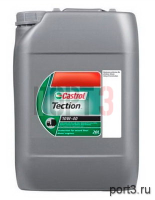 Моторное масло Castrol TECTION 10W-40 20л