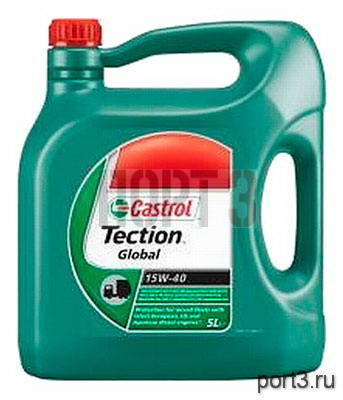 Моторное масло Castrol TECTION GLOBAL 15W-40 5л