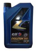 Моторное масло Elf EVOLUTION SXR 5W-40 2л