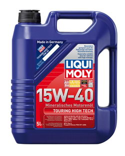 Моторное масло Liqui moly Touring High Tech 15W-40 5л