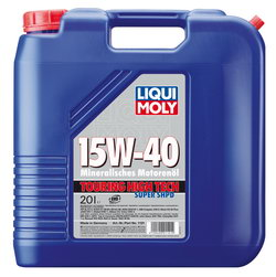 Моторное масло Liqui moly Touring High Tech Super SHPD 15W-40 20л