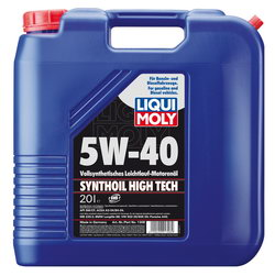 Моторное масло Liqui moly Synthoil High Tech 5W-40 20л