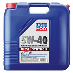 Моторное масло Liqui moly Diesel Synthoil 5W-40 20л