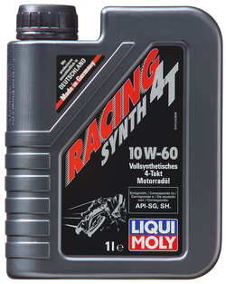 Моторное масло Liqui moly Racing Synth 4T 10W-60 1л