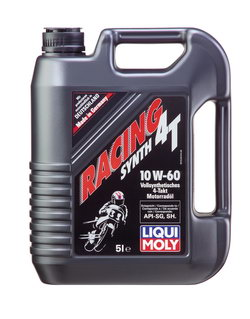 Моторное масло Liqui moly Racing Synth 4T 10W-60 5л