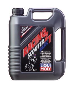 Моторное масло Liqui moly Racing Scooter 2T Basic 5л