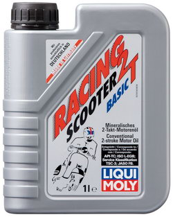 Моторное масло Liqui moly Racing Scooter 2T Basic 1л