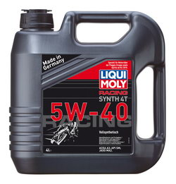 Моторное масло Liqui moly Racing Synth 4T 5W-40 4л
