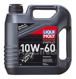 Моторное масло Liqui moly Racing Synth 4T 10W-60 4л