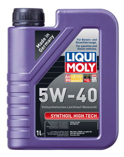 Моторное масло Liqui moly Synthoil High Tech 5W-40 1л