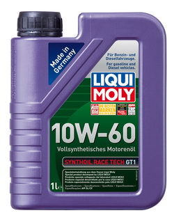 Моторное масло Liqui moly Synthoil Race Tech GT1 10W-60 1л