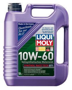 Моторное масло Liqui moly Synthoil Race Tech GT1 10W-60 5л