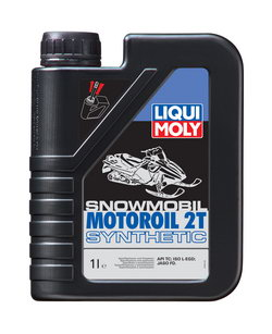 Моторное масло Liqui moly Snowmobil Motoroil 2T Synthetic 1л
