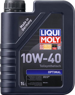 Моторное масло Liqui moly Optimal 10W-40 1л