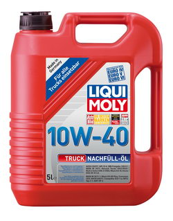 Моторное масло Liqui moly Truck-Nachfull-Oil 10W-40 5л