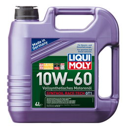 Моторное масло Liqui moly Synthoil Race Tech GT1 10W-60 4л
