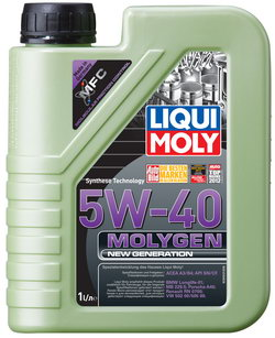 Моторное масло Liqui moly Molygen New Generation 5W-40 1л