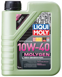 Моторное масло Liqui moly Molygen New Generation 10W-40 1л