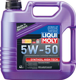 Моторное масло Liqui moly Synthoil High Tech 5W-50 4л