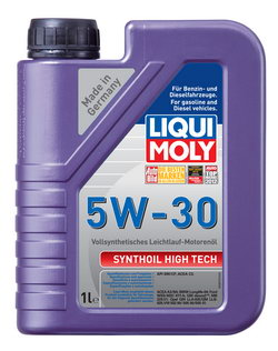 Моторное масло Liqui moly Synthoil High Tech 5W-30 1л