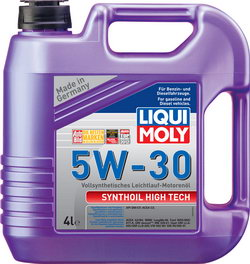 Моторное масло Liqui moly Synthoil High Tech 5W-30 4л