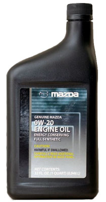 Моторное масло Mazda SM 0W-20 Full Synthetic 1л