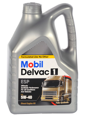 Моторное масло Mobil Delvac 1 5W-40 4л