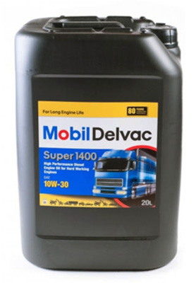 Моторное масло Mobil Delvac Super 1400 10W-30 20л