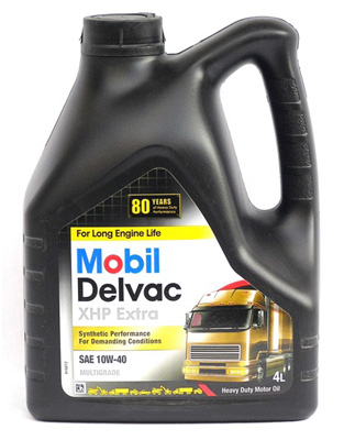 Моторное масло Mobil Delvac MX Extra 10W-40 4л